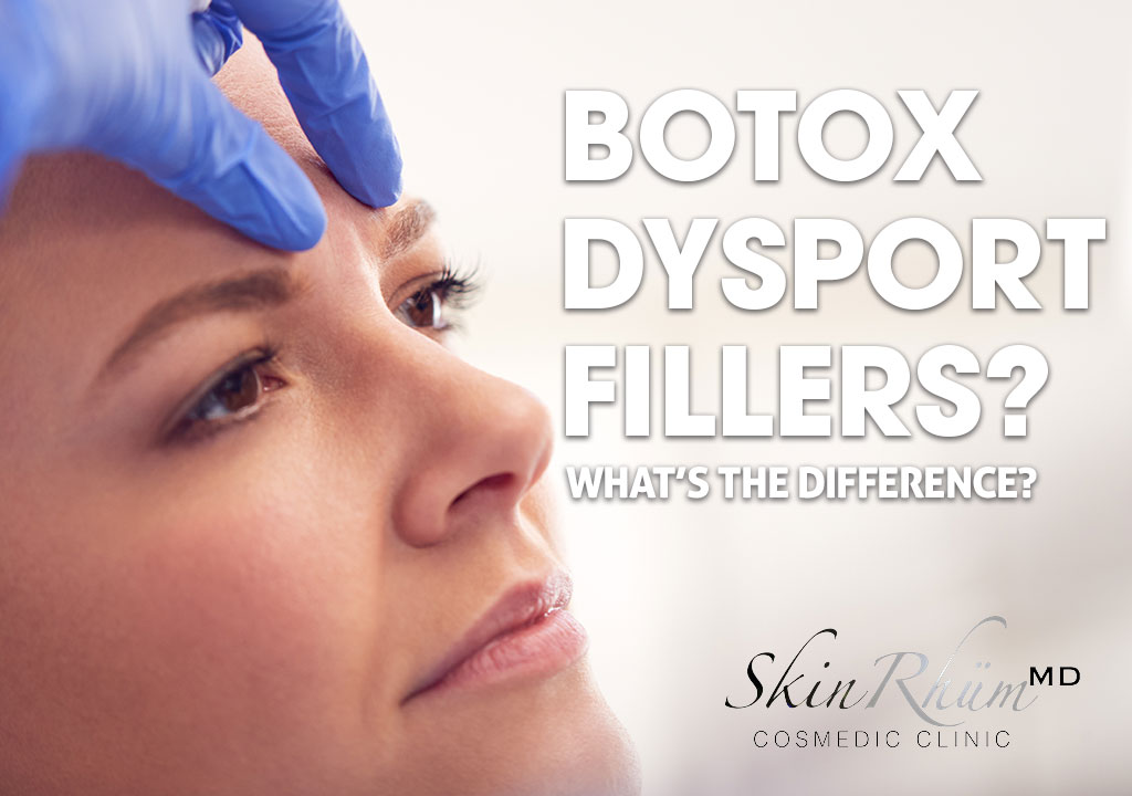 Difference between Botox, Dysport & Fillers?